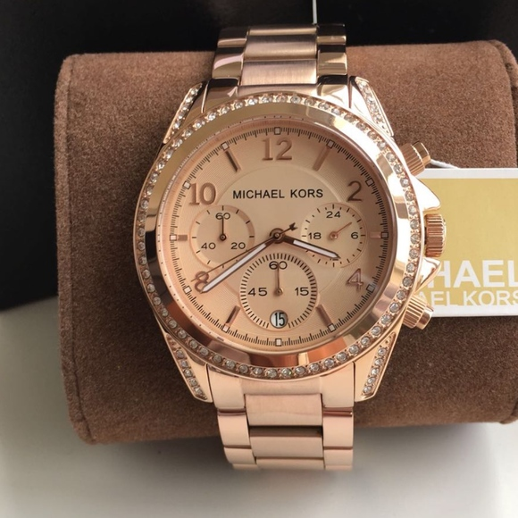 872a5bba1 Michael Kors Accessories | New Rose Gold Blair Ladies Mk5263 | Poshmark